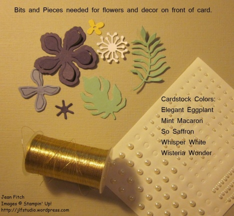 WWC61 - Tutorial Botanical - Flower Bits and Pieces