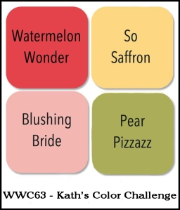 Watercooler Wednesday Challenge - WWC63 - Kath's Color Challenge