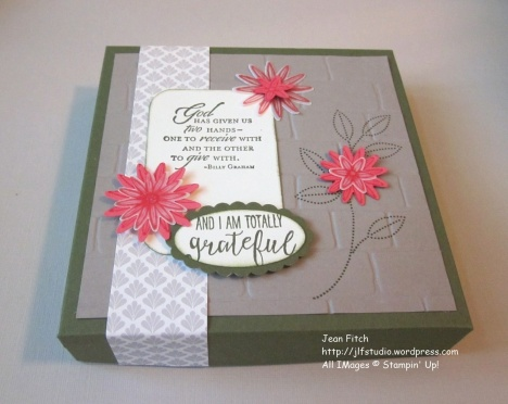 WWC70 - Marsha's Sketch Challenge -Gratitude Card Box Side view - Jean Fitch