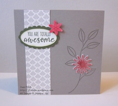 Watercooler Wednesday Challenge - WWC70 - Marsha's Sketch Challenge - card for Gratitude Card Box - Jean Fitch