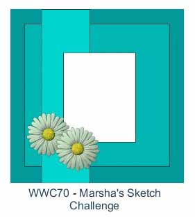 Watercooler Wednesday Challenge - WWC70 - Marsha's Sketch Challenge