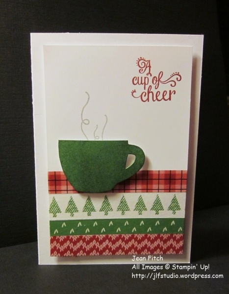 Watercooler Wednesday Challenge - WWC95 -a-cup-of-cheer-Jean Fitch-July 2015 Paper Pumpkin and 2016 Holiday Catalog